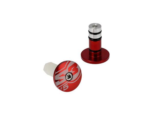 Lenkerenden Ø14mm Rot,  10070199 - Bild 1