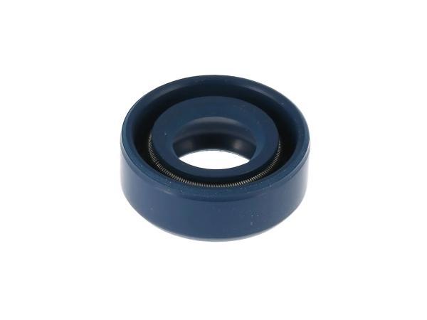 Wellendichtring 10x19x07, blau - für AWO, MZ ES, TR150 Troll,  10003692 - Bild 1