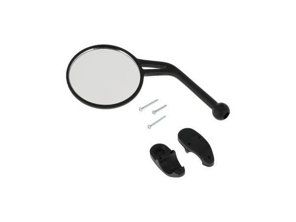 Spiegel links, Ø90mm, abklappbar,  10070068 - Bild 1