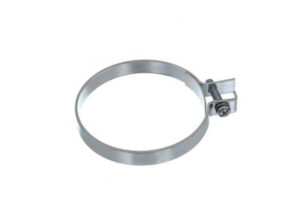 Spannschelle für Zwischenbehälter, 70mm - Simson KR51 Schwalbe, Duo 4,  10067087 - Bild 1