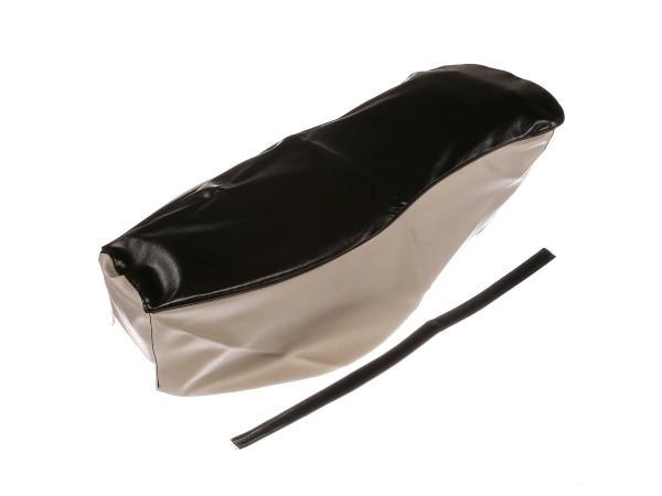 Sitzbezug schwarz-grau mit Haltriemen (Doppelsitzbank) - für AWO-Sport,  10067636 - Bild 1