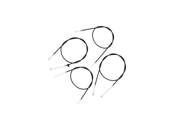 Bowdenzugsatz ETZ125, ETZ150 komplett (4-teilig),  10062778 - Bild 1