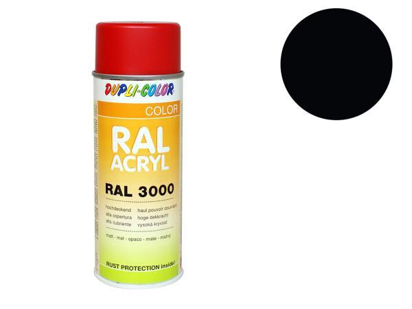 Dupli-Color Acryl-Spray RAL 9005 tiefschwarz, matt - 400 ml,  10064880 - Bild 1