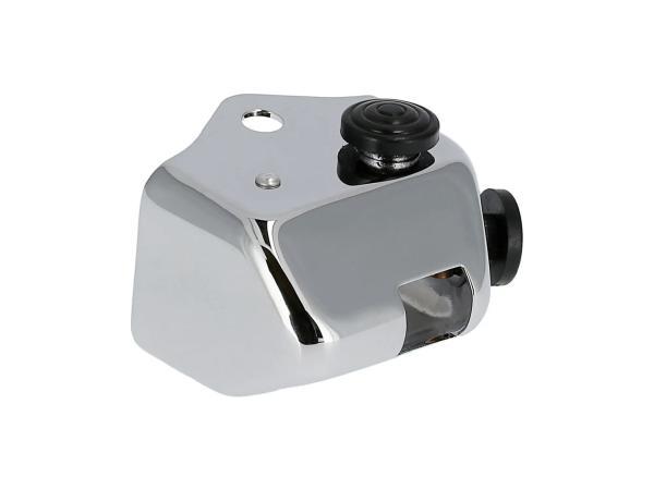 Kappe (Chrom) für Abblendschalter - für Simson KR51 Schwalbe, SR4-1 Spatz, SR4-2 Star, SR4-3 Sperber, SR4-4 Habicht,  10070291 - Bild 1