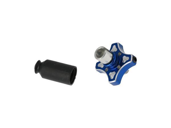 Ersatz Schnellverstellung mit Schraube blau,  10070161 - Bild 1