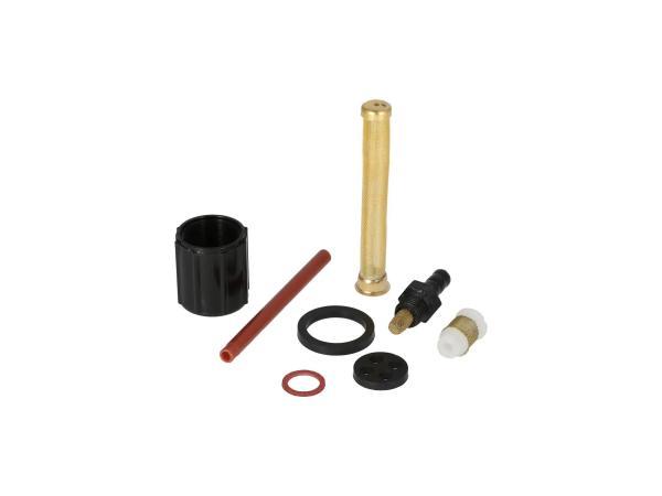 10068778 Set: Reparatur für DDR-Benzinhahn (Ø18mm, mit Wassersack) - für Simson S50, S51, S53, S70, SR4-3 Sperber, SR4-4 Habicht - MZ ES, ETS, TS, ETZ - Bild 1