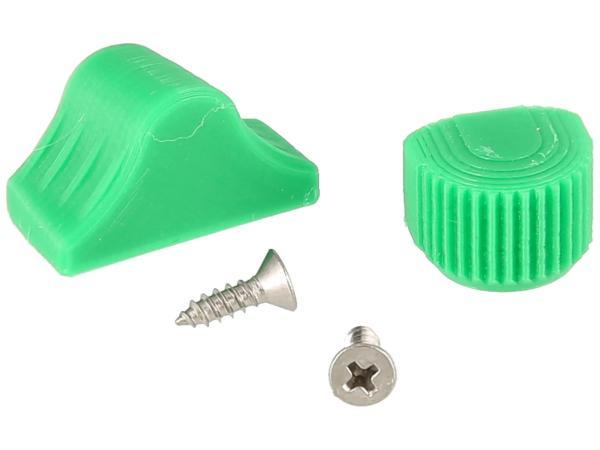 10070506 Set: Abblend- & Blinkerschalterknopf 3D, Grün - für S51, S70, SR50, SR80 - MZ ETZ - Bild 1