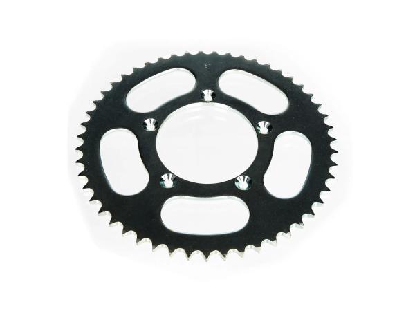 Zahnkranz für Kettenrad-Mitnehmer, 51 Zahn, Mofa 25km/h (gedrosselt) - für Simson S53, MS50, SR50,  10065152 - Bild 1