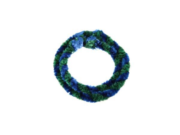 10057750 Nabenputzringe Grün/Blau (Set 1x 25cm + 1x 30cm für Fahrrad) - Bild 1