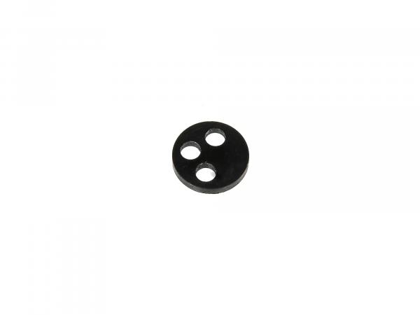 10000324 3-Loch-Dichtung für Import-Benzinhahn - für Simson S51, S50, SR50, Schwalbe, SR4 - Bild 1