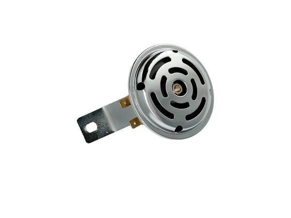 Hupe 6V mit Halter in Chrom - für Simson S50, S51, S70,  10001788 - Bild 1