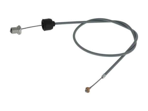 10056805 Kupplungszug grau, Handhebel mit Nachstellung - für MZ ES 175/1, 250/1, 300 - Bild 1