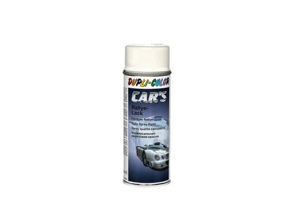 10003013 Dupli-Color CAR´S Rallye-Lack Weiß, glänzend - 400ml - Bild 1