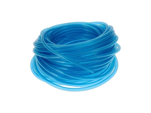 Benzinschlauch, Blau-transparent, 25 Meter-Bund, Ø 5x8,2mm,  10059720 - Bild 1
