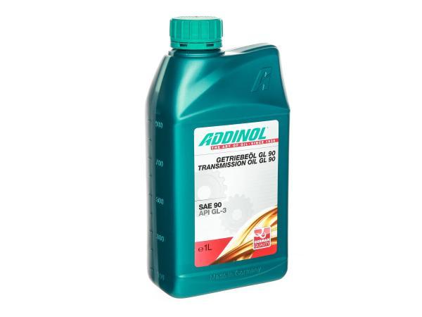 10064599 ADDINOL  - GL90, Getriebeöl (SAE-Klasse 90) teilsynthetisch - 1 L Dose - Bild 1