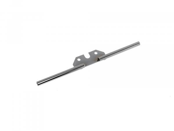 Blinkleuchtenträger hinten, verchromt, Ø10mm - für Simson S51, S50, S70,  10065755 - Bild 1