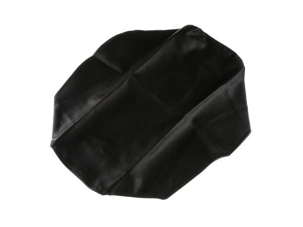 Sitzbankbezug schwarz, glatt - für MZ ETZ125, ETZ150, ETZ251, ETZ301,  10067868 - Bild 1