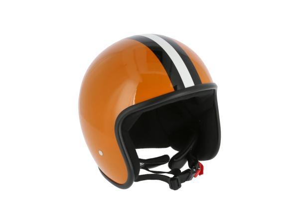 "ARC Helm ""Modell A-611"" Retrolook - Ocker mit Streifen,  10071219 - Bild 1"