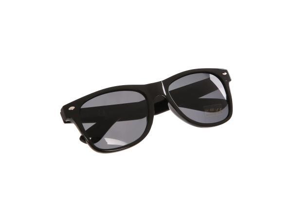 Sonnenbrille mit SIMSON/MZA Logo - Schwarz / Rauchgrau,  10066296 - Bild 1