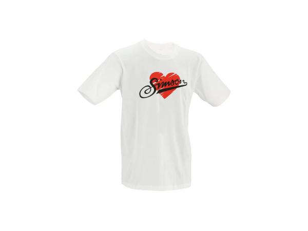 "Kinder T-Shirt ""I love SIMSON"" - Weiß,  10071143 - Bild 1"