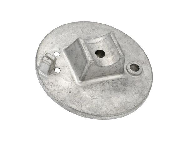 Bremsschild vorn - roh - mit Bolzen - Simson SRA50, MSA50-Spatz,  10061301 - Bild 1