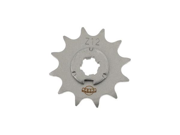 Ritzel, kleines Kettenrad, 12 Zahn - Simson S50, KR51/1 Schwalbe, SR4-2 Star, SR4-3 Sperber, SR4-4 Habicht,  10059970 - Bild 1
