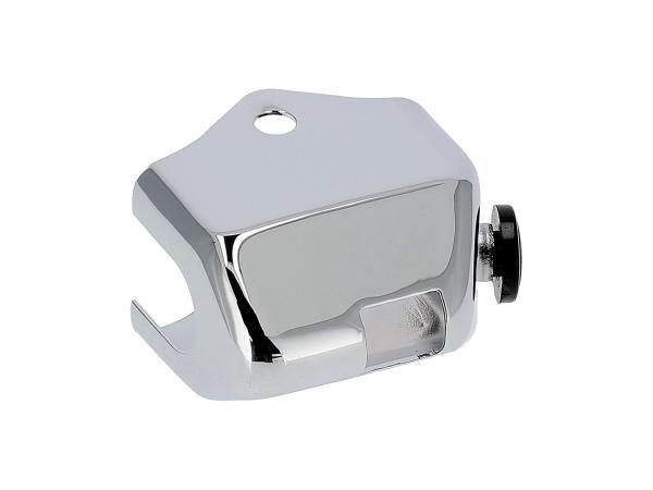 Kappe (Chrom) für Abblendschalter ohne Lichthupentaster - für Simson S50,  10070289 - Bild 1