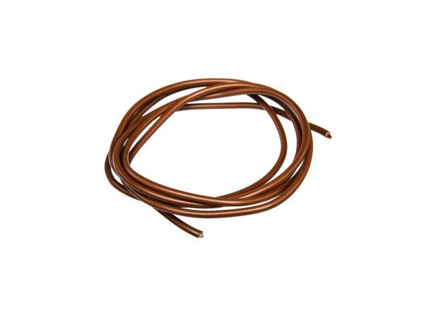 10001781 Kabel - Braun 0,75mm² Fahrzeugleitung - 1m - Bild 1