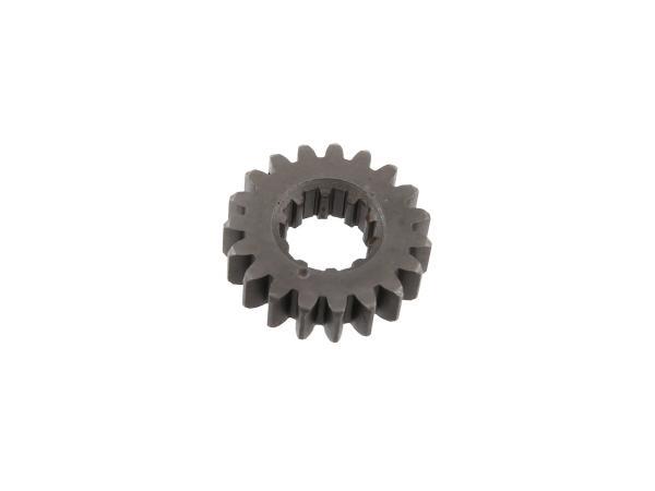 Festrad 19 Zahn, 3.Gang (4-Gang Motor) - Simson S51, KR51/2 Schwalbe,  10002313 - Bild 1