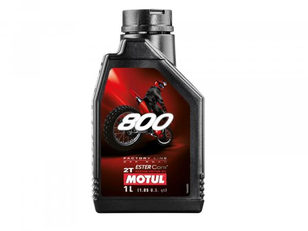 MOTUL 800 Motoröl 2 Takt -1 Liter - Off Road,  10056261 - Bild 1