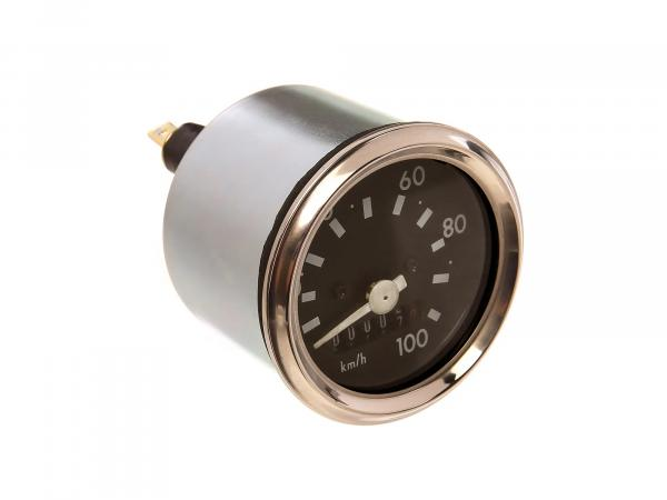 Tachometer mit Blinkerkontrolle, 100km/h - für Simson S51, S70, S53, S83,  10056664 - Bild 1