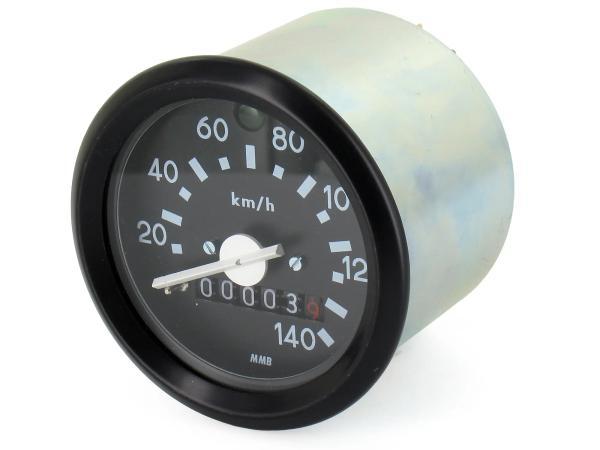10062582 Tachometer 140km/h-Ausführung mit Blinkkontrolle, 12V - Bild 1