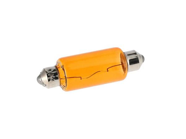 Soffitte 12V 18W orange, 15x41mm von VEBCO,  10070087 - Bild 1