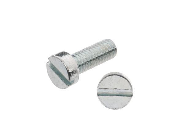 Zylinderschraube, Schlitz M6x16 - DIN84,  10062081 - Bild 1