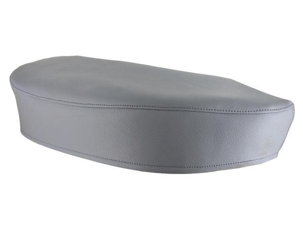 Sitzbezug glatt, grau - für Simson SR4-1 Spatz,  10013986 - Bild 1