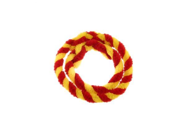 Nabenputzringe Rot/Gelb (Set 1x 25cm + 1x 30cm für Fahrrad),  10057746 - Bild 1
