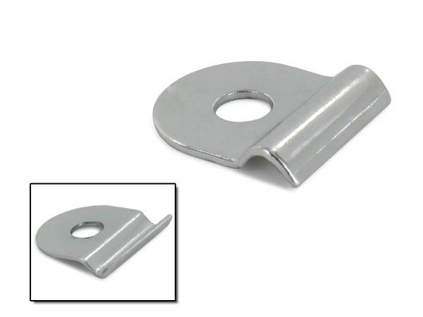 10056234 Kederklemme einzeln für Knieblech KR50, KR51/1, KR51/2 (chrom-optik) - Bild 1