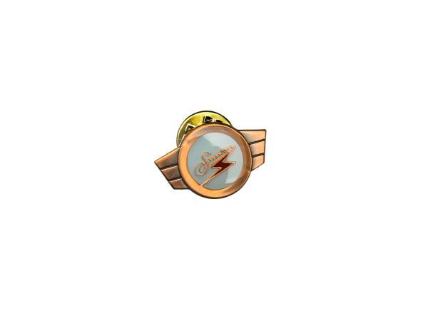 PIN SIMSON Kleinkrafträder, Warenzeichen, Plakette - BRONZE,  10065624 - Bild 1