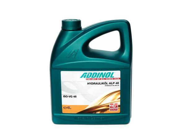 10062197 ADDINOL HLP46, Hydrauliköl Duo Schwalbe (ISO SAE 46), mineralisch, 4 L Kanister - Bild 1