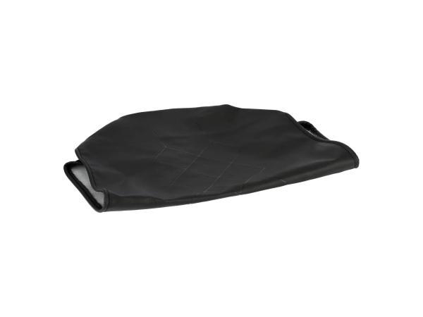 Sitzbezug strukturiert, schwarz ohne Schriftzug - MZ ETS250,  10059053 - Bild 1