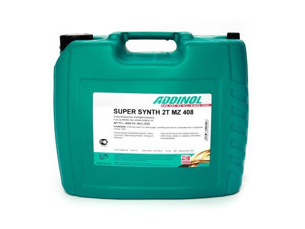 10062184 ADDINOL MZ408 SUPER SYNTH, 2-Takt-Motorenöl, vollsynthetisch, 20 L Kanister - Bild 1