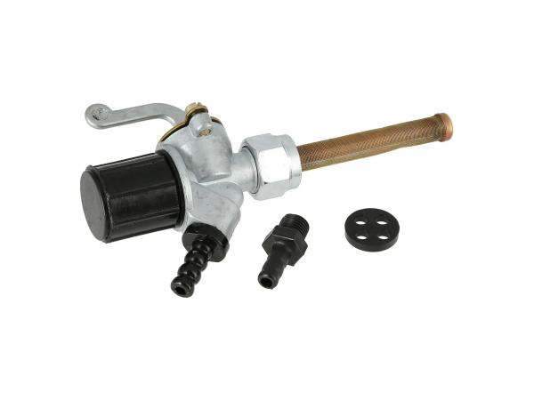Benzinhahn mit Wassersack, alte Optik - für Simson SR4-3 Sperber, SR4-4 Habicht - MZ ES, ETS, BK350 - IWL TR150 Troll,  10069388 - Bild 1