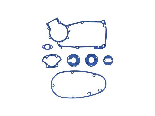 GP10000575 Dichtungssatz aus Kautasit Motortyp M53/2, Flanschdichtung Ø 19mm  - für Simson S50, Schwalbe KR51/1 - Bild 1