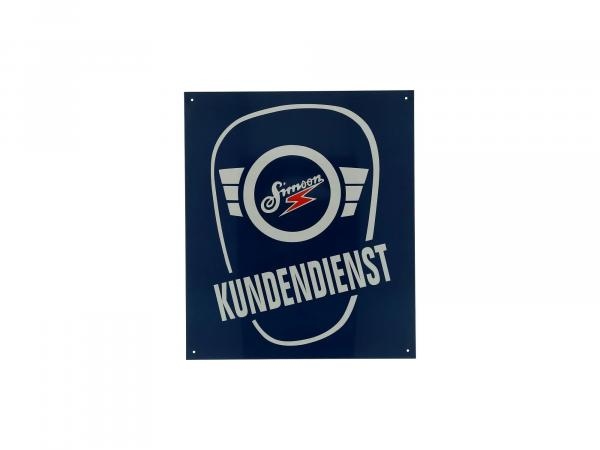 Blechschild - SIMSON KUNDENDIENST,  10044014 - Bild 1