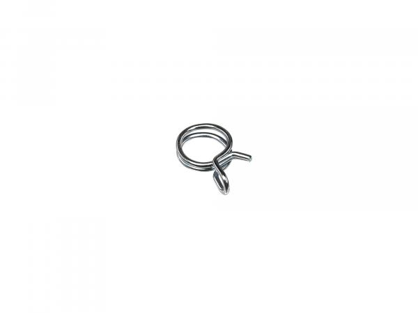 10064425 Federdrahtschelle - Ø= 7,8-8,3mm Spannweite - ideal zur Sicherung Benzinschlauch - Bild 1
