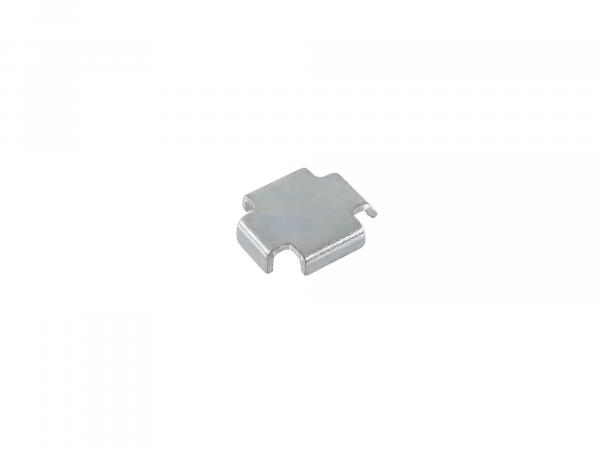 Bremsbackenzwischenlage 1,5 mm Simson S51, S50, SR50, Schwalbe KR51, SR4,  10000622 - Bild 1