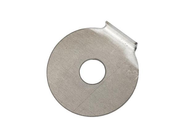 Sicherungsblech für Schaltbügel, für Schaltwelle mit M6 - Simson S50, KR51/1 Schwalbe, SR4-1 Spatz, SR4-2 Star, SR4-3 Sperber, SR4-4 Habicht,  10021100 - Bild 1