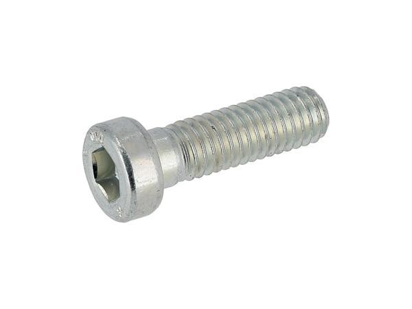 Zylinderschraube mit Innensechskant, niedriger Kopf, M6x20 - DIN6912, Stahl 10.9,  10070610 - Bild 1