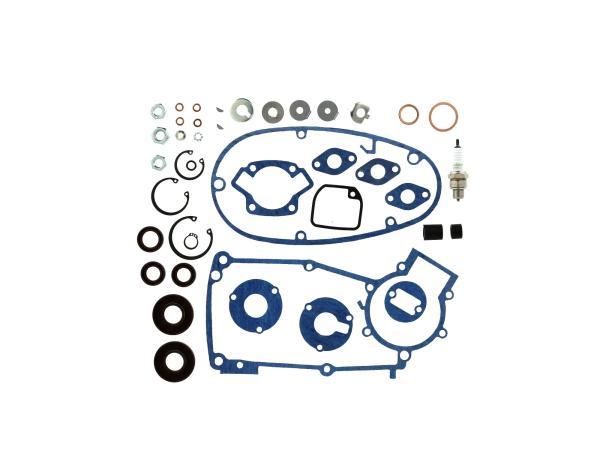Set: Dichtungen Kautasit + Kleinteile für Regeneration Motortyp M53/2 - für Simson Schwalbe KR51/1,  10069840 - Bild 1