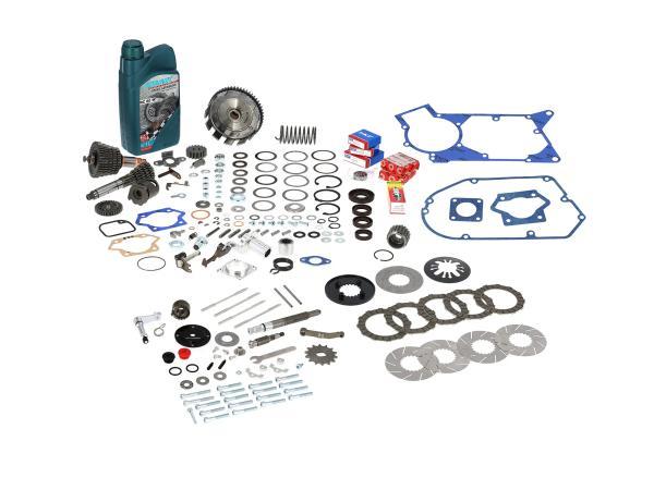 AKF Basis-Bausatz für Tuning-Motor, mit langem 5-Gang Getriebe und 5-Lamellen Kupplung - für Simson S50, S51, S53, S70, S83, KR51/2 Schwalbe, SR5,  10068500 - Bild 1